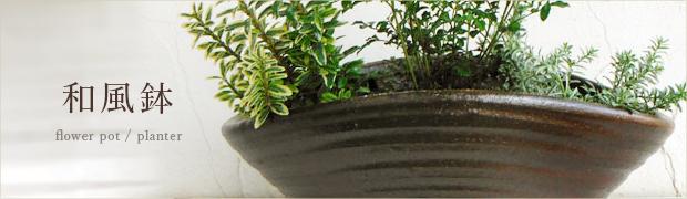 鉢 プランター:和風鉢
