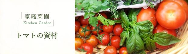 家庭菜園:トマトの資材