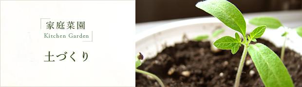 家庭菜園:土づくり