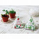 しあわせガーデン・ワイルドストロベリーとクローバーのミニ栽培キット