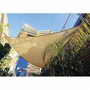 シェードセイル(日よけ) トライアングル(三角形) サンド 5m×5m×5m