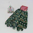 [ギフトに]しあわせガーデン・ワイルドストロベリー(種から育てる栽培セット)とガーデングローブ:ストロベリーのセット(ラッピング付)