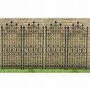アイアンフェンス150  4枚組(幅54cm、高さ150cm)