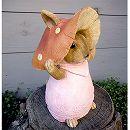 きのこウサギ12014(ピンク)