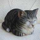 香箱猫ミニ(グレー)12239
