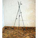 オベリスク:シンプルオベリスク(グレー)FM-120GL(高さ120cm) 3本セット