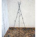 オベリスク:シンプルオベリスク(ブラウン)FM-160BR(高さ160cm) 3本セット
