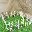 リトルガーデン:ガーデンフェンス(ホワイト)LG-010WH(幅約20cm)