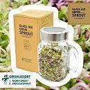 グラスジャー・スプラウト栽培セット:グリーン