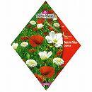 [赤と白の花 春・秋まき 花タネ]カプリス フラワーガーデン ミックス