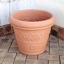 アンティコ鉢43型ブラウン