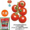 トマト(中玉):フルーツルビーEX大苗4号ポットと追肥不要の肥料100gのセット