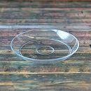 受け皿:クリアプレート・クリア4号(直径12cm)