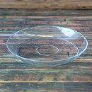 受け皿:クリアプレート・クリア5号(直径15cm)