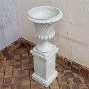 PSスタンドカップ直径30cmと花台スクエアM高さ39.5cmのセット