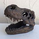 ダイナソーヘッド:ミニSHRJ-1611(長さ19.5cm、高さ15.5cm)
