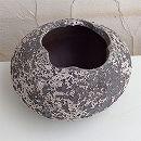 塩焼き鉢:玉子ポットSVTT-1606(幅25cm、高さ15cm)