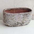 塩焼き鉢:オーバルポットLサイズ(SVTT-1601-L)