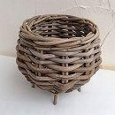 グレイラタンバスケット直径20cm