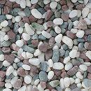 天然石の敷石:グラベルアイテム本五色20kg