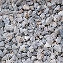 天然石の敷石:グラベルアイテムニューシルバー20kg