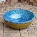 陶器水鉢・浅型LF1219大(直径42cm)(穴無し)