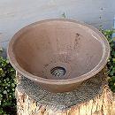 山野草鉢:そり山草鉢(7号) 1個