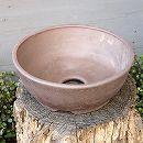 山野草鉢:伝市サツキ鉢型(6号) 1個
