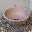 山野草鉢:伝市サツキ鉢型(4号) 1個