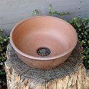 山野草鉢:伝市サツキ鉢型(5号) 1個