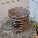 山野草鉢:反そり鉢(3号) 1個