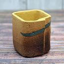 信楽焼き 小鉢(約1.5号):黄角1715-04