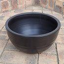 水鉢:黒ボール10号1731-04