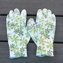 フィットして作業しやすいガーデニング手袋(グリーン)Mサイズ