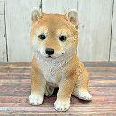 犬のオーナメント:豆柴(高さ22cm)