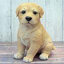 犬のオーナメント:ラブラドール(高さ21cm)
