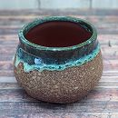 ミニ和鉢:緑茶(口径8.5cm)