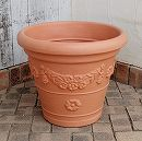 アンティコ鉢55型ブラウン 2個セット