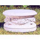 イタリア製石像台座:ピレオ