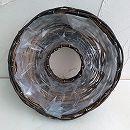 ドーナツ型 籐プランター(直径30cm)