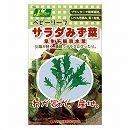 [タネ]ベビーリーフの種:サラダみず菜 早生千筋京水菜