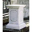 イタリア製石像台座:ピッティ(幅40cm、奥行40cm、高さ61cm)