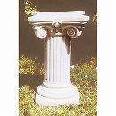 イタリア製石像台座:パトラッソ(幅47cm、奥行47cm、高さ75cm)