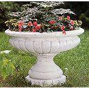 イタリア製花鉢:ローマの皇帝