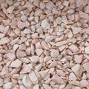 天然石の敷石:グラベルアイテムスイートピーチ20kg