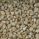 天然石の敷石:グラベルアイテムシトラスイエロー20kg