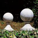 イタリア製石像:オーナメント:飾り玉 大(高さ50cm)