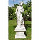 イタリア製石像:夏の乙女