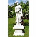 イタリア製石像:秋の乙女