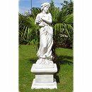 イタリア製石像:冬の乙女